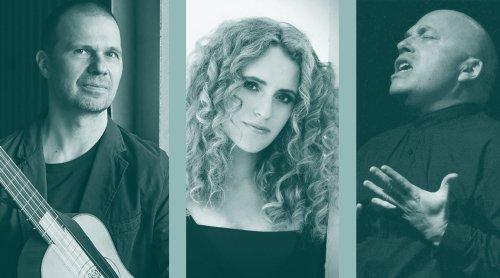 Pierre Pitzl, Raquel Andueza, Marco Beasley